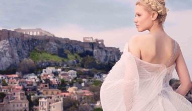 Свадебные платья в греческом стиле - нежно и изысканно