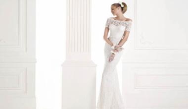 Прямое свадебное платье – это тенденция