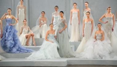 Модные тенденции на свадебные платья
