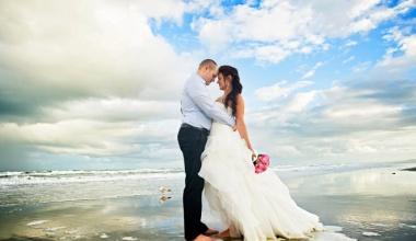Платье для свадьбы на курорте