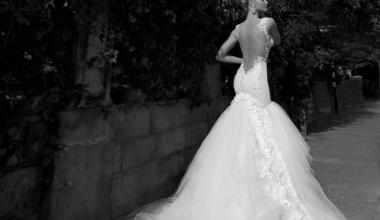 Длинные свадебные платья - классика свадебной моды