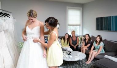 Корректировка свадебного платья по фигуре нужна всегда